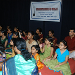 SUSWARA CHILDREN SINGING ISAI THUVAKKA PADALGAL IN THE COMPETITION ON DP COMPOSITIONS